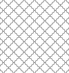 Geometric seamless pattern in islamic style vector image