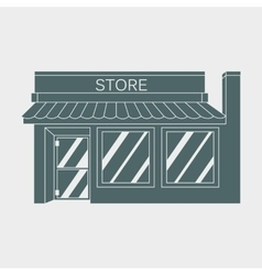 icon detailed Shop Market vector image
