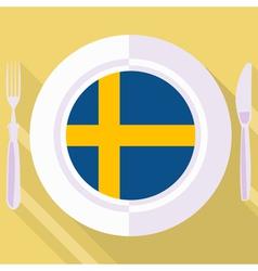 Kitchen sweden vector