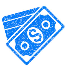 Money grunge icon vector