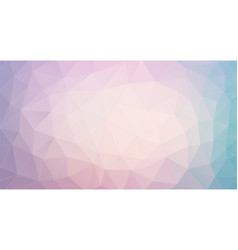 triangle background with pastel colors vector image
