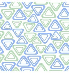 Seamless background with simple triangle vector image vector image