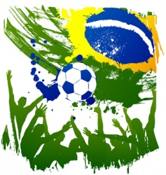 World cup brazil vector