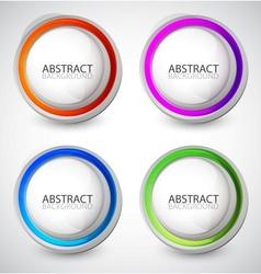 swirl set vector image vector image