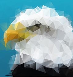 Polygon Eagle vector
