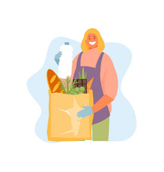 Product delivery online order vector