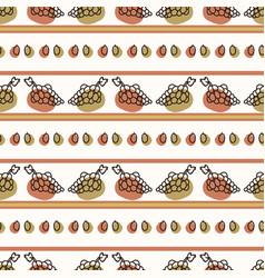 Seamless background cute grape stripe gender vector