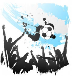 world cup argentina vector image
