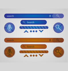 search elements vector image
