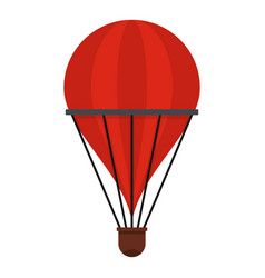aerostat icon isolated vector image