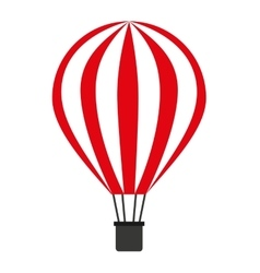 balloon air isolated icon design vector image