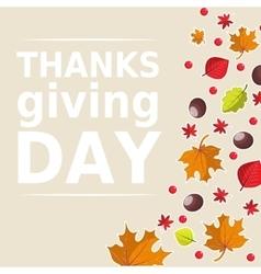 Bright autumn background for invitation ad vector