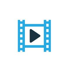 cinema colorful icon symbol premium quality vector image
