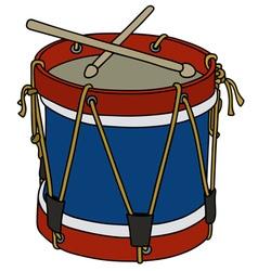 Classic color drum vector