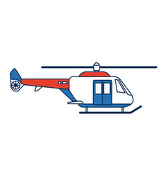 Helicopter propelled vehicle rotor transport style vector