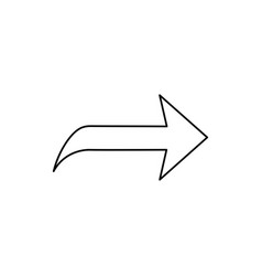 next forward icon vector image