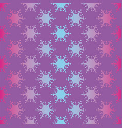 seamless violet pattern with cutout vector image
