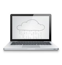 Laptop Concept vector image vector image