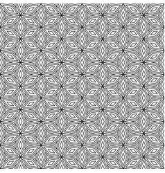 Repeat ornamental background angled shapes vector