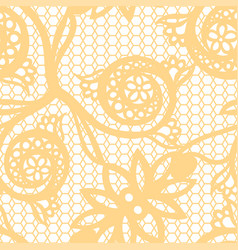 vintage floral seamless pattern decorative vintage vector image vector image