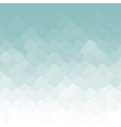 Blue ice diamond and triangle shapes vector