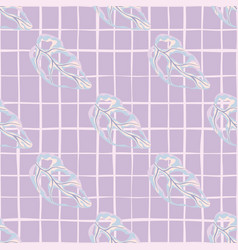 Creative pastel seamless pattern with diagonal vector