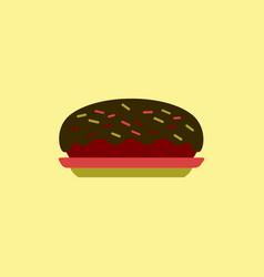 Delicious cake cake icon vector