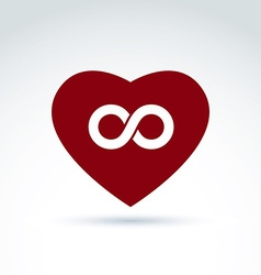 Infinity icon eternal life idea of an ete vector