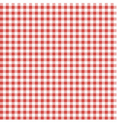 red patterns tablecloths vector image