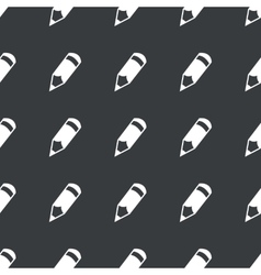 Straight black pencil pattern vector
