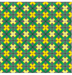 Tile background with ornament vector