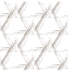beige grunge pyramids on a white background vector image