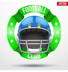 American Football Label vector image vector image