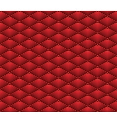 Button Red Leather seamless pattern Abstract vector image vector image