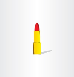 lipstick logo icon design vector image