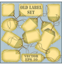Price Tags Labels vector image vector image