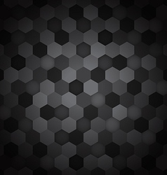 Seamless hexagon pattern abstract background vector image vector image