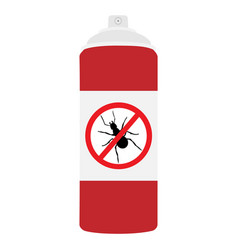 ant repellent spray bottle icon ant insect stop vector image