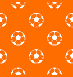 football or soccer ball pattern seamless vector image