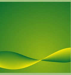 green background with lines vector image