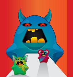 gremlin creatures vector image