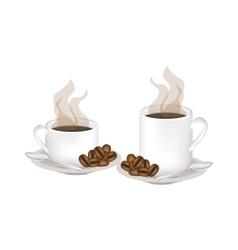 Isolated coffee mug design vector