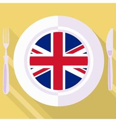 Kitchen great britain vector