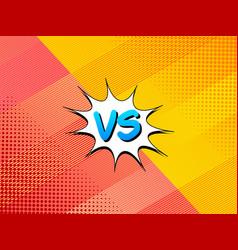 Motion versus comic background vector