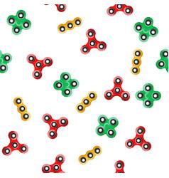 Spinner seamless pattern vector