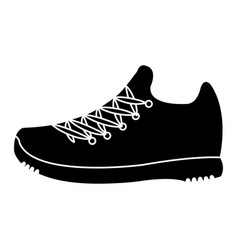 tennis shoes walking vector images over 190 rh vectorstock com Shoe Print Vector Track Shoe Vector