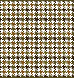 hounds tooth seamless pattern vector image
