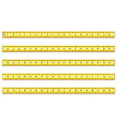 measuring tape for tool roulette 02 vector image vector image
