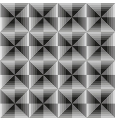 Abstract geometric grey seamless background vector image vector image