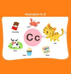 Alphabet letter c vector